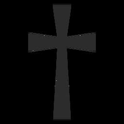 Cruz cristiana icono de la religión
