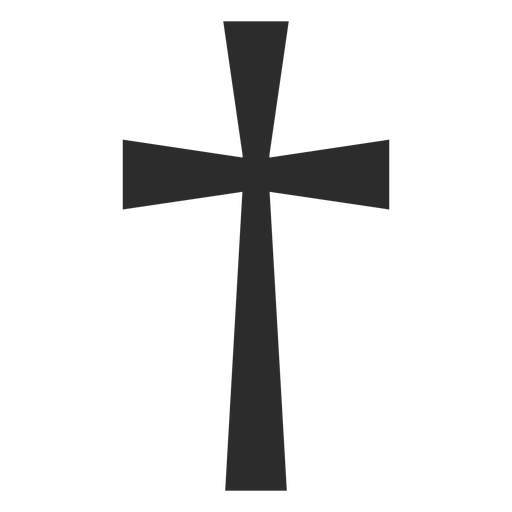 Christian cross religion icon Transparent PNG