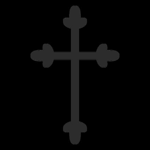 Elemento religioso de la cruz cristiana Transparent PNG