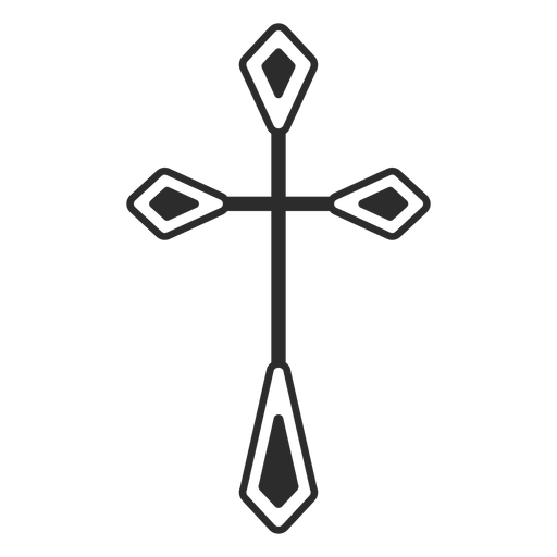 Christian cross religious icon Transparent PNG