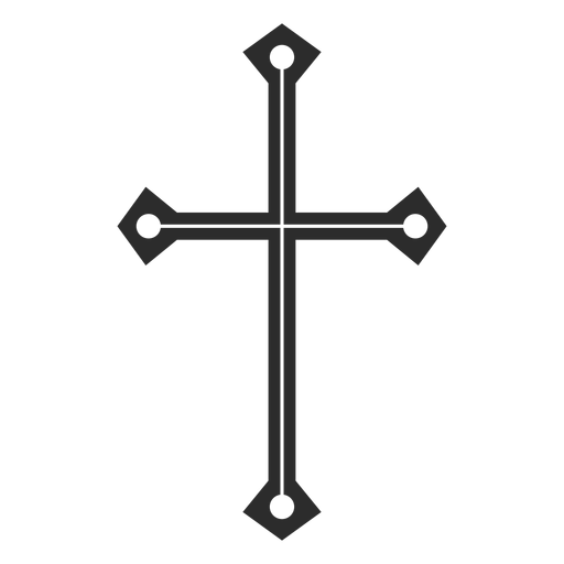 Christian cross symbol Transparent PNG