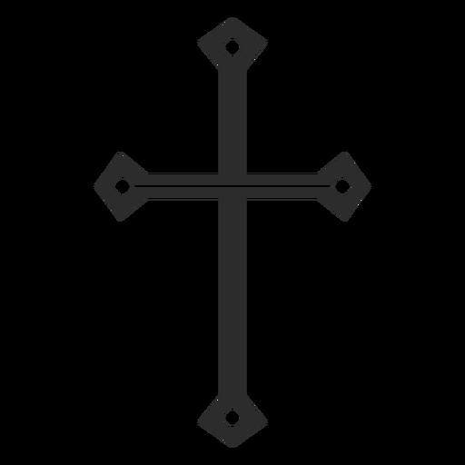 Símbolo de la cruz cristiana Transparent PNG