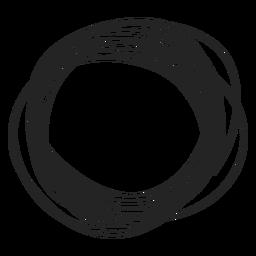 Kreis Gekritzel