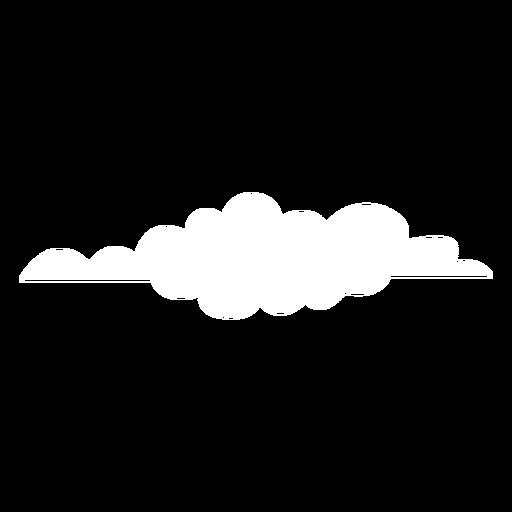 Cloud forecast flat Transparent PNG