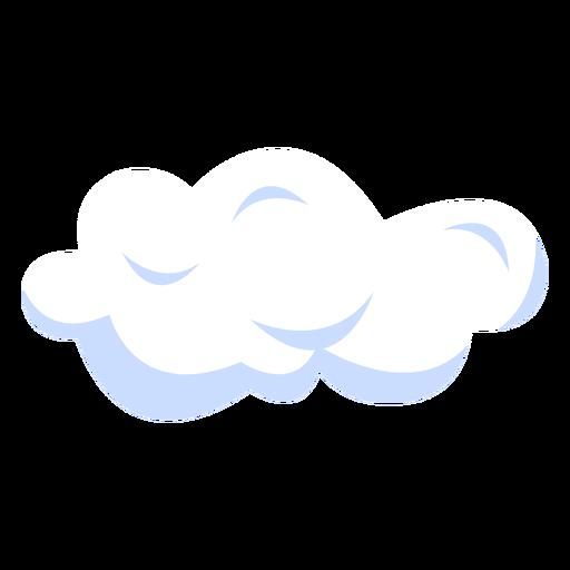 Ilustración de pronóstico de nubes Transparent PNG