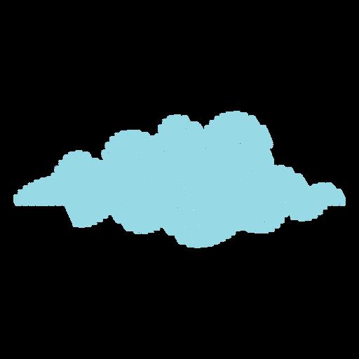 Icono de garabato de pronóstico de nubes