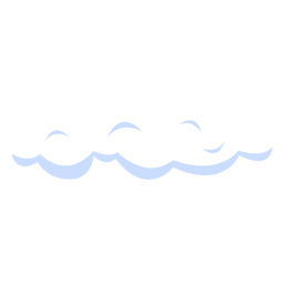 Nuvem, ilustração, nuvens