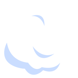Cloud meteorology illustration