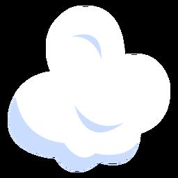 Ilustración de meteorología de nubes