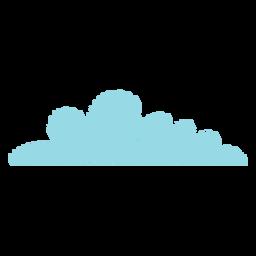 Wolke Gekritzel-Symbol