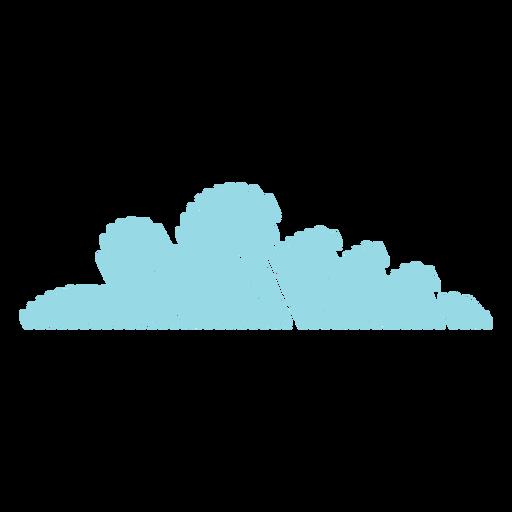 Icono de garabato de nube