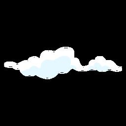 Elemento de diseño de cielo de nubes