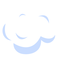 Cloud sky illustration