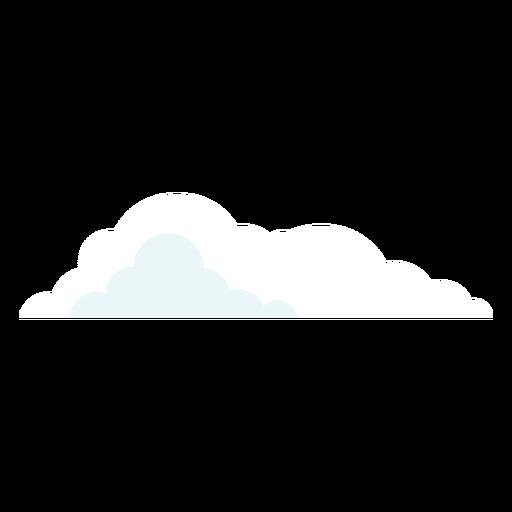 Elemento de clima en la nube Transparent PNG
