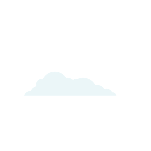 Cloud weather forecast element Transparent PNG