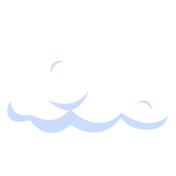 Cloud weather illustration