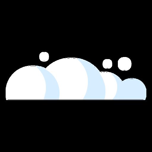 Icono de meteorología de nubes Transparent PNG