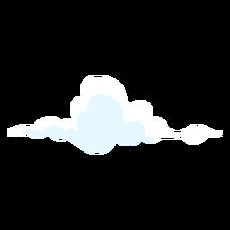 Elemento de diseño de pronóstico nublado