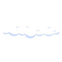 Cloudy forecast illustration