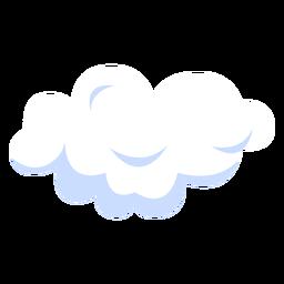 Ilustración de cielo nublado