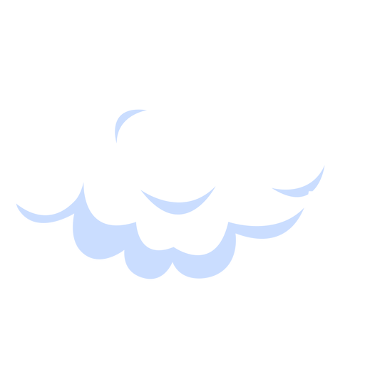 Cloudy sky illustration Transparent PNG