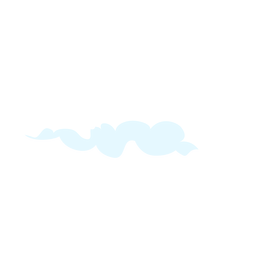 Cloudy weather design element