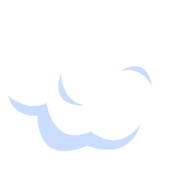 Cloudy weather illustration