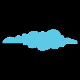 Icono de garabato de tiempo nublado