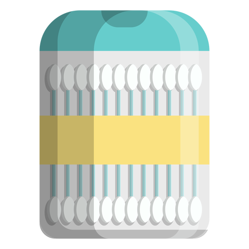 Cotton sizes swabs travel size icon Transparent PNG