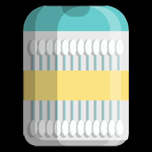 Icono de tamaño de viaje de hisopos de algodón Transparent PNG
