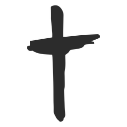 Cruz doodle ícone