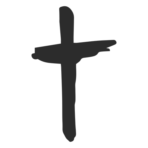 Cross doodle icon Transparent PNG