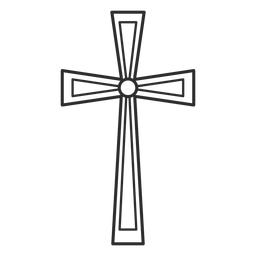 Religião Christian Cross Element