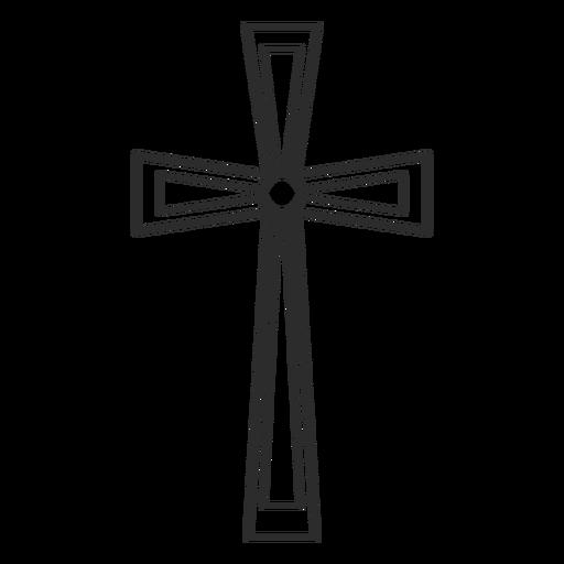 Religión cristiana elemento de cruz Transparent PNG