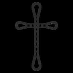 Icono religioso cruz