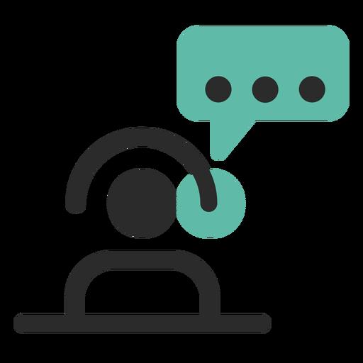 Icono de contacto de atención al cliente - Descargar PNG/SVG ...