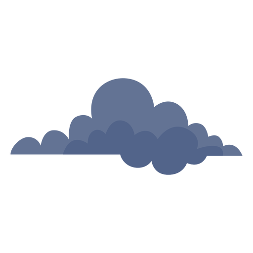 Dark cloud icon - Transparent PNG & SVG vector file