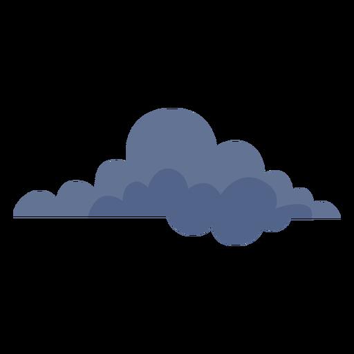 Icono de nube oscura