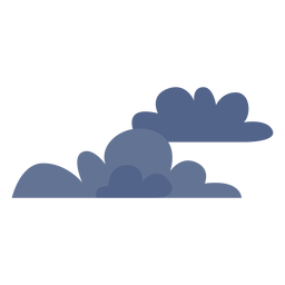 Dark clouds icon