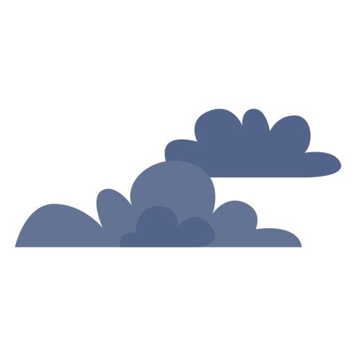 Dark clouds icon Transparent PNG