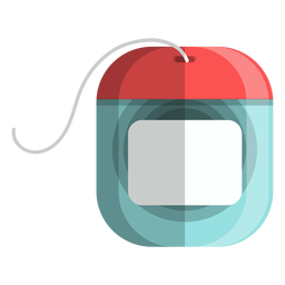 Icono de hilo dental