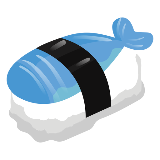 Fish sushi icon Transparent PNG