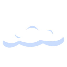 Ilustración de nube de pronóstico