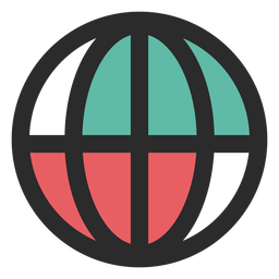 Icono de contacto de globo