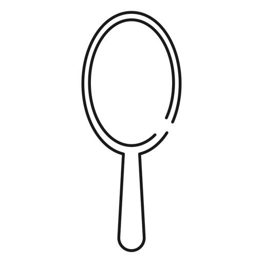 Hair brush stroke icon Transparent PNG