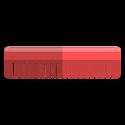 Ícones de banho de ícone de pente de cabelo