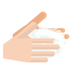 Hands washing icon
