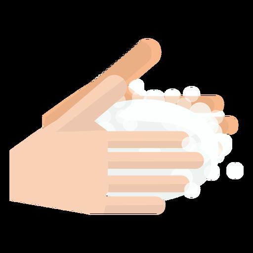 Hände waschen Symbol Transparent PNG