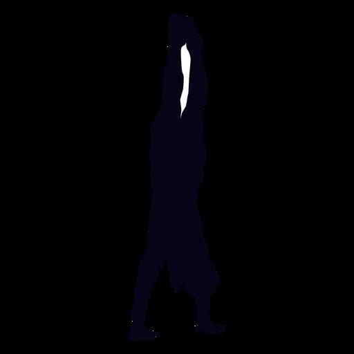 Silhueta de crossfit de pino Transparent PNG