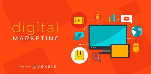 Design de marketing digital